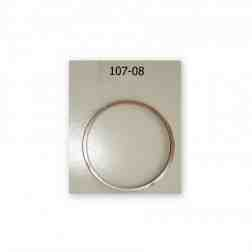 "Porsche 356 912 base shim for 102-90 Nickies, copper .010"", set of 4 pcs"