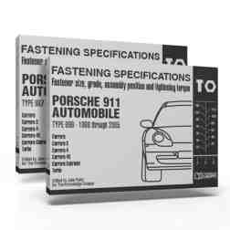 "996 & 997 ""Torque Book"" Bundle – Fastening Specifications for Porsche 911 (Types 996 & 997) Automobile"