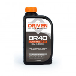 Joe Gibbs DRIVEN BR40 Break-In 10W-40, 12 Quarts