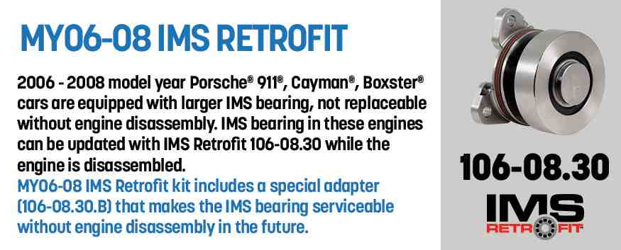 Genuine IMS Retrofit - bearing replacement kits