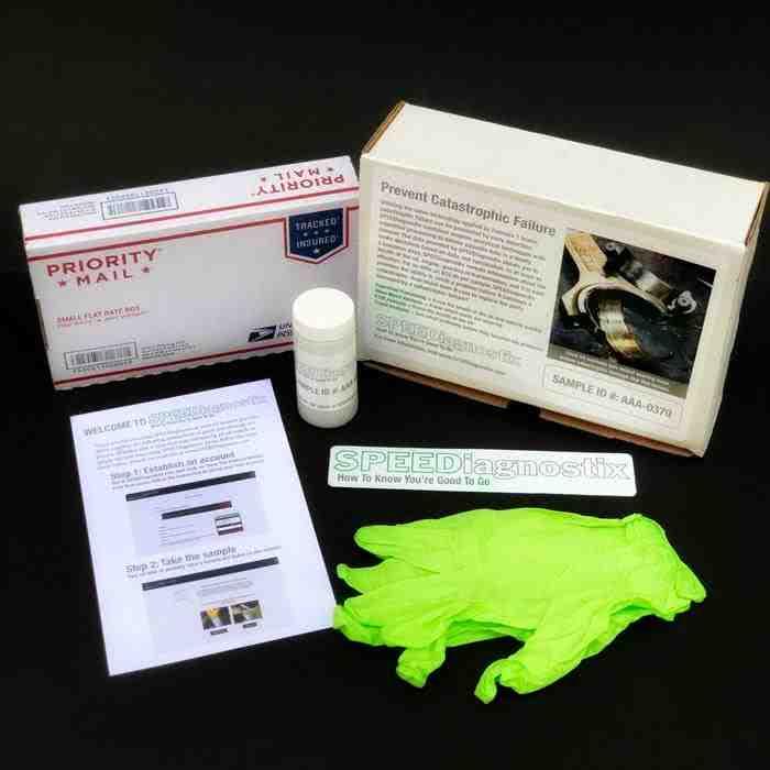 SPEEDiagnostix SDX-10001 Used Oil Analysis Kit