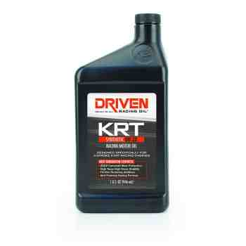 Joe Gibbs Racing Driven KRT Synthetic 0w20 4 Stroke Karting Oil (Case of 12 Quarts) 03406