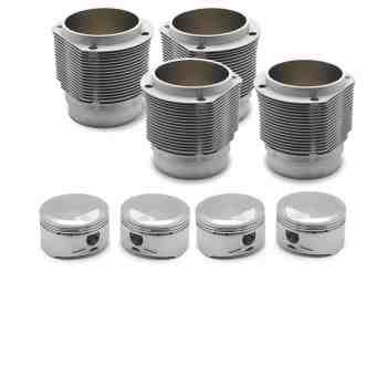 Porsche 356 912 91mm Nickies inc.  9.5:1 JE Piston set. 63.5-66.5cc chambers