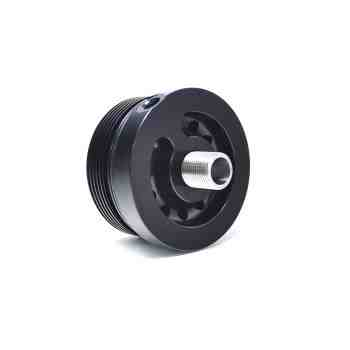 Spin-On Oil Filter Adapter with -3 AN Oil Port