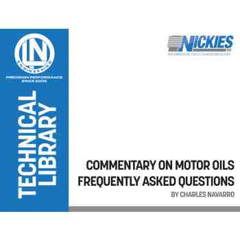 FREE DOWNLOAD: Motor Oil - Commentary and FAQ