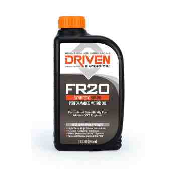 Joe Gibbs Racing DRIVEN FR20 03006 5W-20 Synthetic Oil. (12 Quarts)