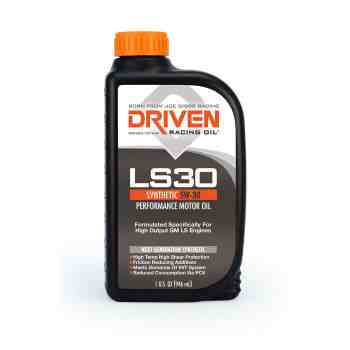 Joe Gibbs Racing DRIVEN LS30 02906 5W-30 Synthetic Oil (12 Quarts)