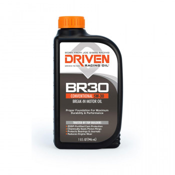 Joe Gibbs Racing DRIVEN BR30 01806 Break In 5w30 Oil, 12 Quarts