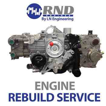 RND Engines Rebuild Service - 3.6l engine for 02-05 Carrera (996), 02-04 Carrera 4, 02-05 Carrera 4S