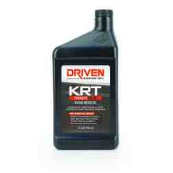 Joe Gibbs Racing Driven KRT Synthetic 0w20 4 Stroke Karting Oil (Case of 12 Quarts) 03406