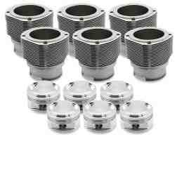 Porsche 911 2.2 84mm Nickies inc. 9.5:1 JE Piston set