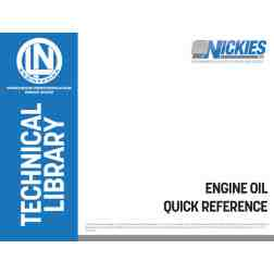 FREE DOWNLOAD: Engine oil Quick Reference