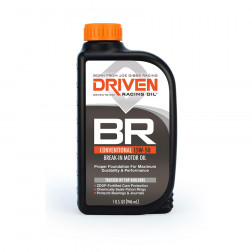 Joe Gibbs Racing DRIVEN BR 00106 Break In 15w50 Oil, 12 Quarts