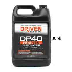 Joe Gibbs Racing Driven DP40 Turbo Diesel Oil (4 x Gallon Jug) 02508