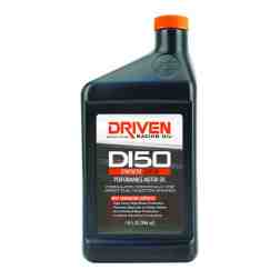 Joe Gibbs Racing Driven DI50 15W-50 Synthetic Direct Injection Performance Motor Oil (Case of 12 Quarts) 18506