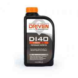Joe Gibbs Racing Driven DI40 Synthetic 0w40 Direct Injection Sports Car Oil (Case of 12 Quarts) 18406