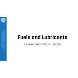 FREE DOWNLOAD: Fuels and Lubricants: Current and future trends.