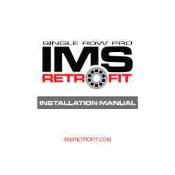 FREE DOWNLOAD: Single Row Pro IMS Retrofit Instructions