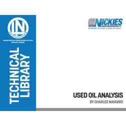 FREE DOWNLOAD: Used Oil Analysis