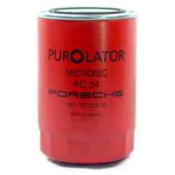 Genuine Porsche 911 Engine Oil Filter Red Purolator PC34 1965-1971