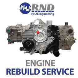 RND Engines Rebuild Service - 2.7l  engine for 03-04 Porsche Boxster