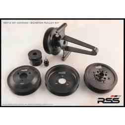 RSS Motorsport Pulley Kit including AC Delete for Gen 2 Boxster Cayman 911 9A1