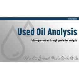 FREE DOWNLOAD: Used Oil Analysis - Presentation (PRI Show 2018)