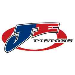 Custom Eight (8) Cylinder JE Piston Set for Direct Injection inc. rings, pins, and clips