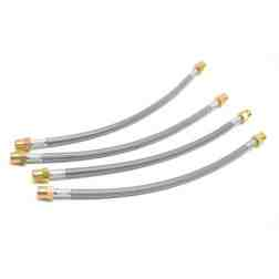 DOT Approved Stainless Brake Lines for 981 718 Porsche Boxster Cayman and 991 991.2 911 Models