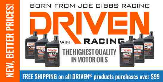 DRIVEN Oils - Free Shipping