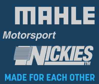 Mahle Motorsports + Nickies Piston and Cylinders Sets